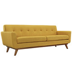 Modway Engage Mid Century Fabric Sofa (12 Color Options!)