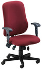 Mayline Comfort Series Contoured Support Chair 4019AG (4 Color Options Available!)