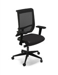 Mayline Commute Series Adjustable Mesh Back Office Chair C1BB