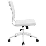 Modway Jive Series Armless Office Chair (8 Cool Colors!)