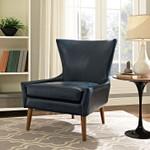 keen blue lounge chair