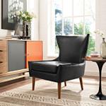 keen black lounge chair