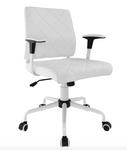 lattice chair in white