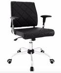 lattice chair in black