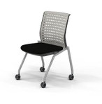 Pack of 2 Mayline Thesis KTS2 Armless Training Room Chairs