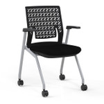 ktx1 thesis training room chair with arms