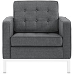 Modway Loft Collection Upholstered Fabric Armchair EEI-2050 (4 Color Options!)