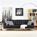 Modway Loft Leather Sofa