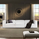 Modway Mingle 3 Piece Upholstered Sectional Sofa
