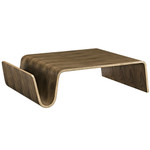 Modway Polaris Wood Coffee Table with Walnut Finish EEI-2091