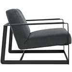 Modway Seg Gray Fabric Accent Chair EEI-2074