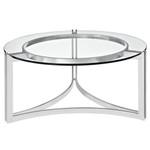 Modway Signet Circular Glass Top Coffee Table EEI-1438