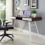 Modway Stir Mid Century Modern Office Desk EEI-1322 (2 Finish Options!)