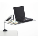 Safco 2132SL Clamp-On Laptop Sit To Stand Workstation