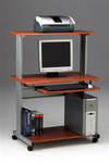 Mayline Eastwinds Mobile Multimedia Computer Workstation