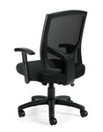 Offices To Go 11516B Mesh High Back Managers Chair