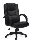 Offices To Go 11618B Leather Executive Chair