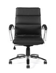 offices to go 11648b segmented cushion office chair front view