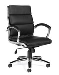 offices to go 11648b segmented cushion office chair angled view