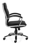 offices to go 11648b segmented cushion office chair side view