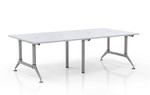 Mayline Even Series 4 Person Collaborative Benching Layout LD7 (2 Finish Options!)