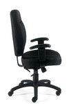 11652 offices to go high back tilter chair - side view