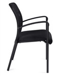 Offices To Go 11760B Mesh Back Guest Chair