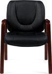 Offices To Go 11770B Executive Wood Guest Chair