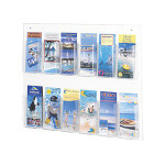 Safco Clear2C Pamphlet Display 5671CL