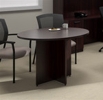 """Offices To Go 42"""" Superior Laminate Round Table (4 Finishes!)"""