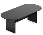 "Offices To Go 95"" American Espresso Racetrack Conference Table"