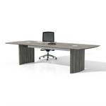 medina gray steel table
