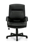 Offices To Go Luxhide Conference Room Executive Chair OTG11776B
