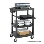 Safco Multi-Media Projector Cart 8929BL