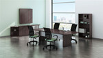 mocha laminate medina conference table mnc8ldc