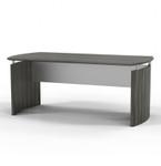 medina gray steel office desk