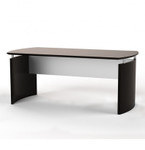"Mayline Medina Collection 72"" x 36"" Mocha Finished Desk"