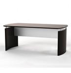 medina mocha executive desk
