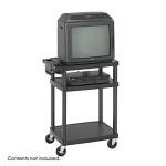 Safco Plastic AV Cart 8933BL