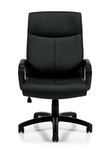 Offices To Go Model OTG11782B Luxhide Managers Chair