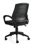 Offices To Go Modern Gray Mesh Office Task Chair 10902B