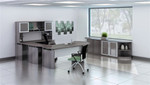 medina modern gray office furniture