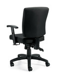 Offices To Go OTG11950B Multi Function Task Chair with Arms