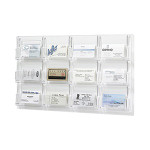 Safco Reveal Business Card Display 5618CL