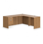 Offices To Go SL-M Superior Laminate Desk with Extension (5 Finishes Available!)
