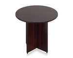 Offices To Go SL36R Superior Laminate Small Round Meeting Table (5 Finishes!)