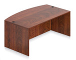 Offices To Go Superior Laminate Bow Front Desk Shell