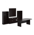 Offices To Go Superior Laminate Conference Furniture Set SL-P (5 Finishes Available!)