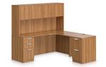Offices To Go Superior Laminate Corner Desk with Hutch SL-L