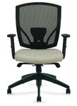 Offices To Go Synchro-Tilter Office Chair with Custom Upholstered Seat